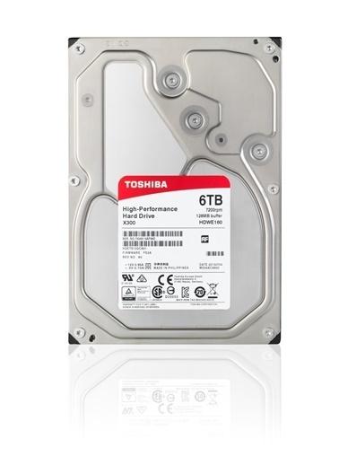 """Toshiba 3.5"""" 6Tb X300 7200Rpm Sat3 128Mb (Box) Renkli"""